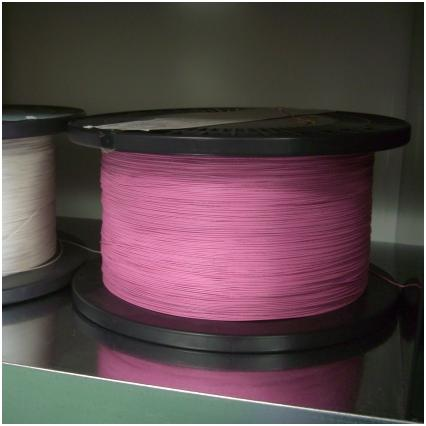 Pink High voltage 28# thin wire by the meter